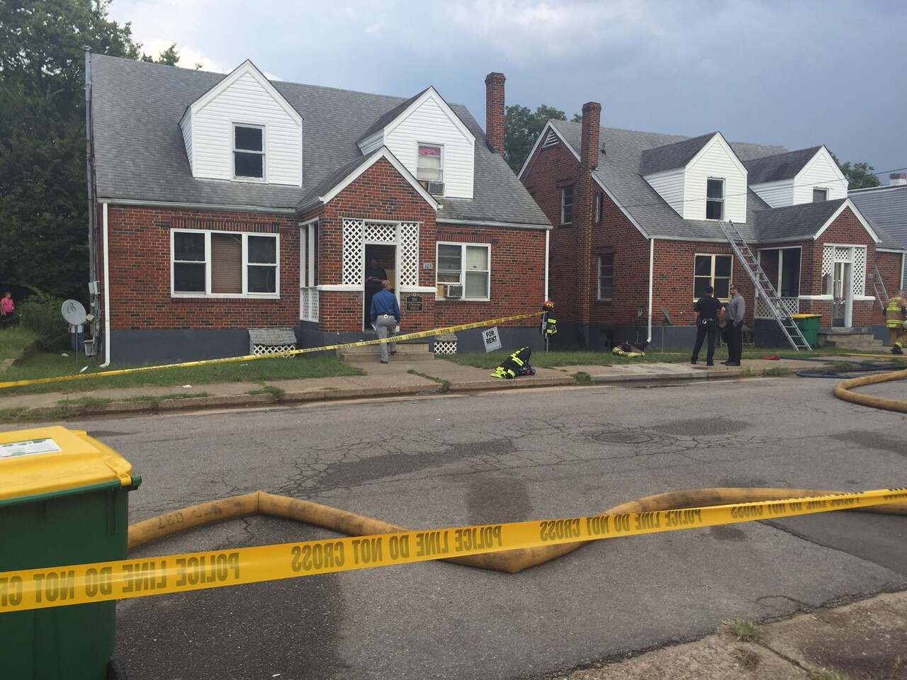 Photos: Hopewell apartment fire leaves two with life-threatening injuries