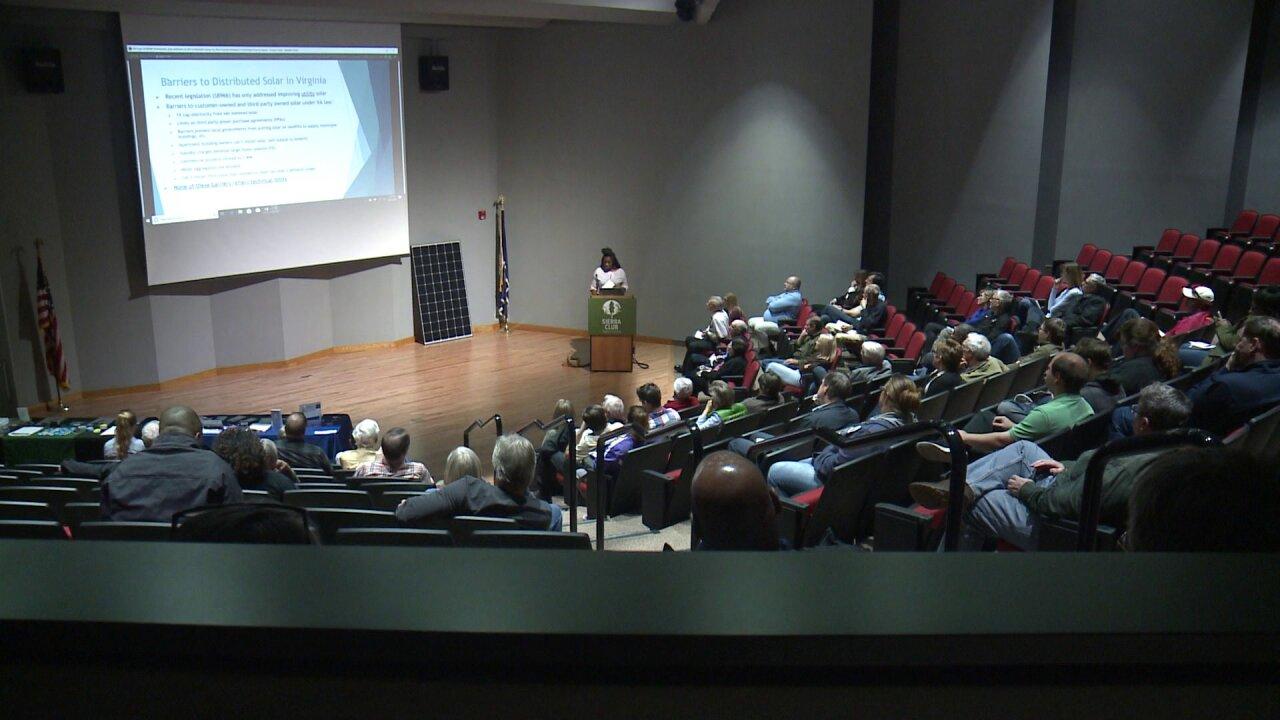 Solar experts talk benefits of solar energy in HamptonRoads