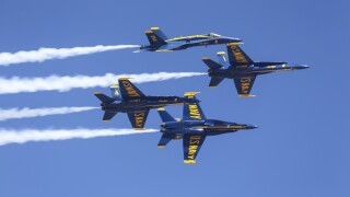 US Navy Blue Angels 2018 MCAS Miramar Air Show