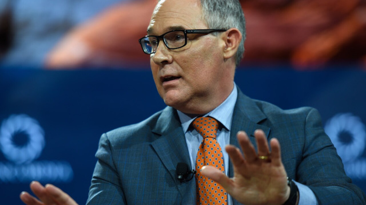 WaPo: Pruitt spent nearly $68,000 for recent travel
