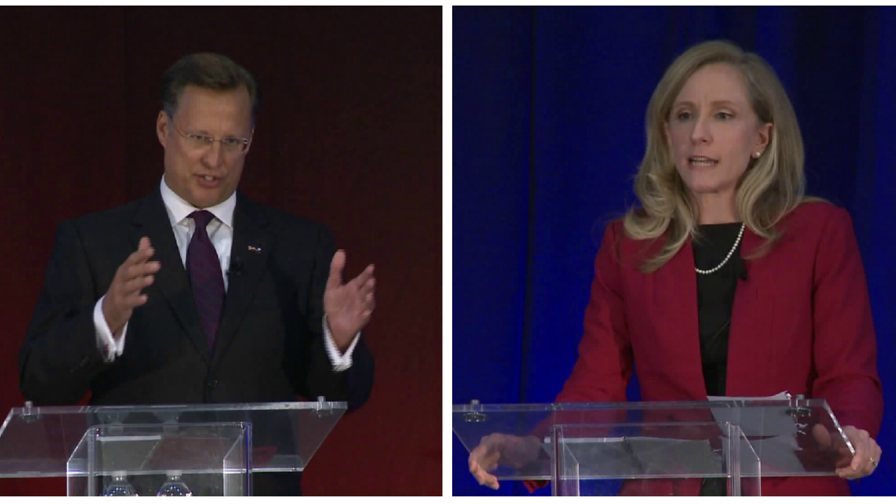 Dave Brat, Abigail Spanberger spar over health care and GOP taxcuts