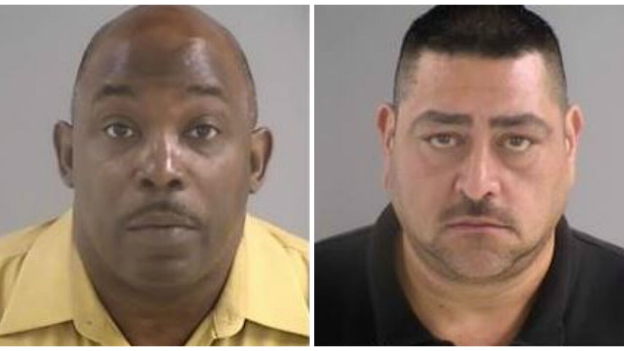 2 men charged with possession of a firearm on school property in HenricoCounty