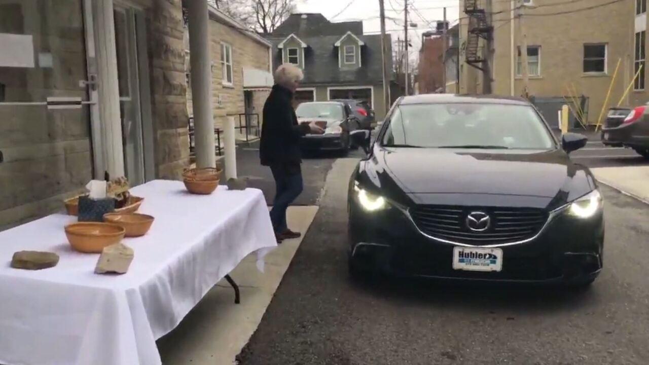 Drive thru communion.JPG