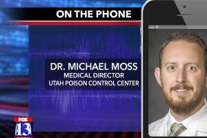 Utah Poison Control on THC in children
