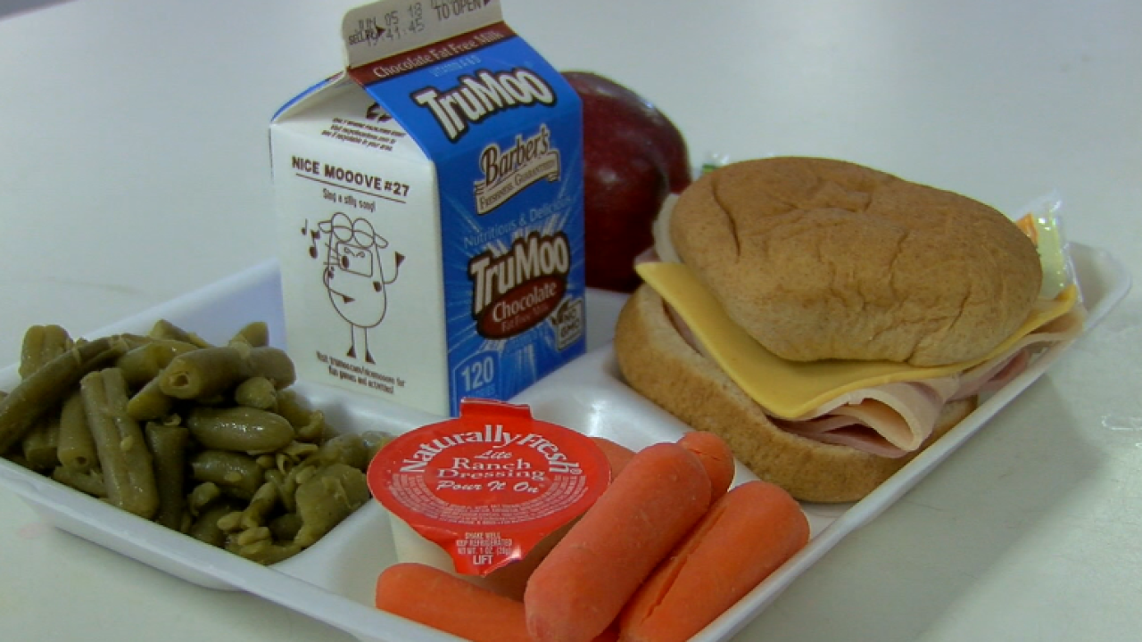 School lunch, Decatur County Schools summer program