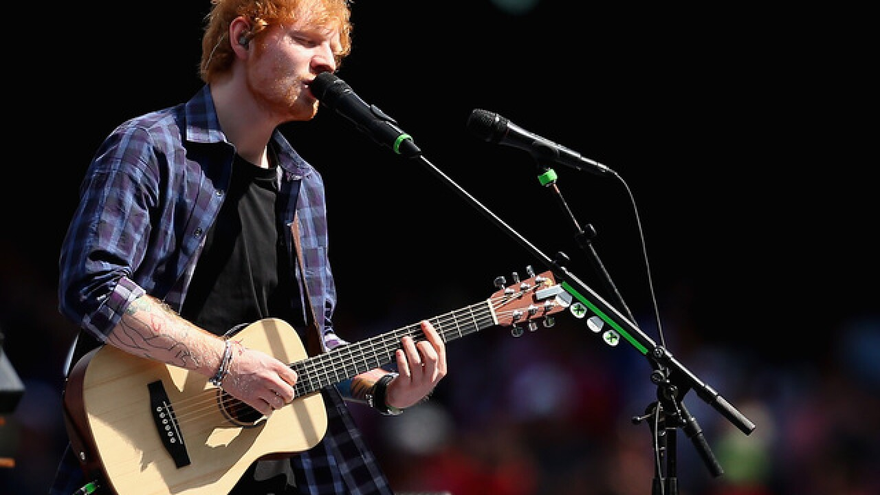 Ed Sheeran stadium tour might have impacted NFL scheduling