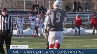 Constantine 33, Michigan Center 14