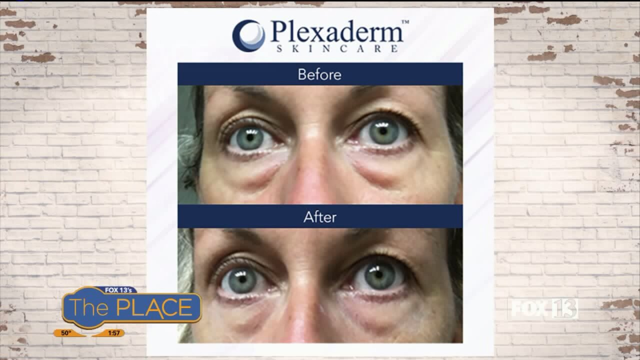 Reduce the appearance of under eye bags, puffiness, and wrinkles instantly WITHOUT surgery!