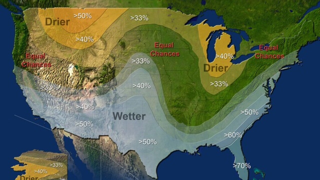 Odds of El Niño winter growing stronger