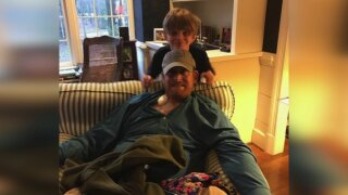 Chesterfield father thanks Problem Solvers after life-saving kidneytransplant