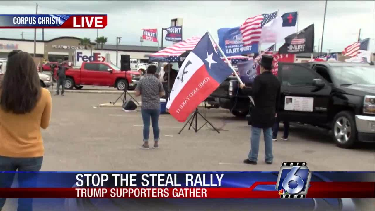 Local Donald Trump rally