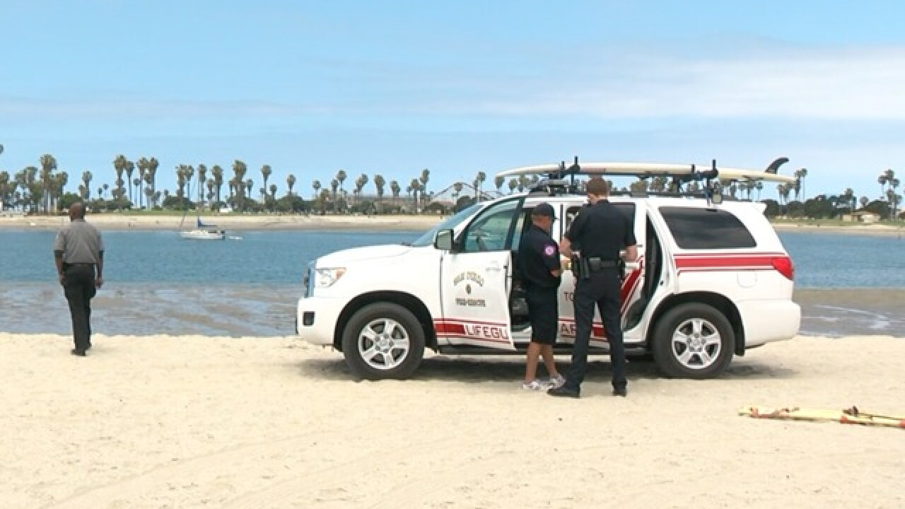 Body found floating in Bonita Cove at Mission Bay