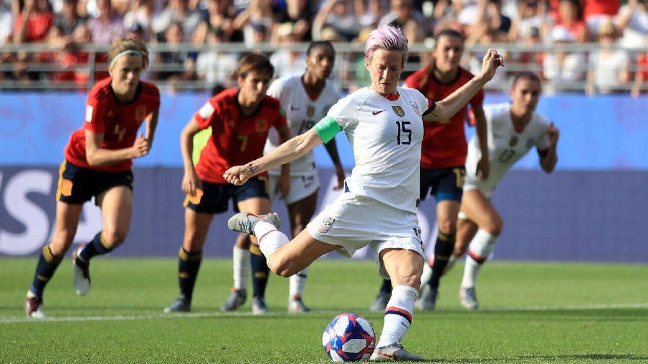 USWNT advances in World Cup with tight win over Spain