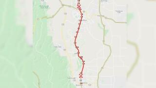 CDOT single-lane closures GAP