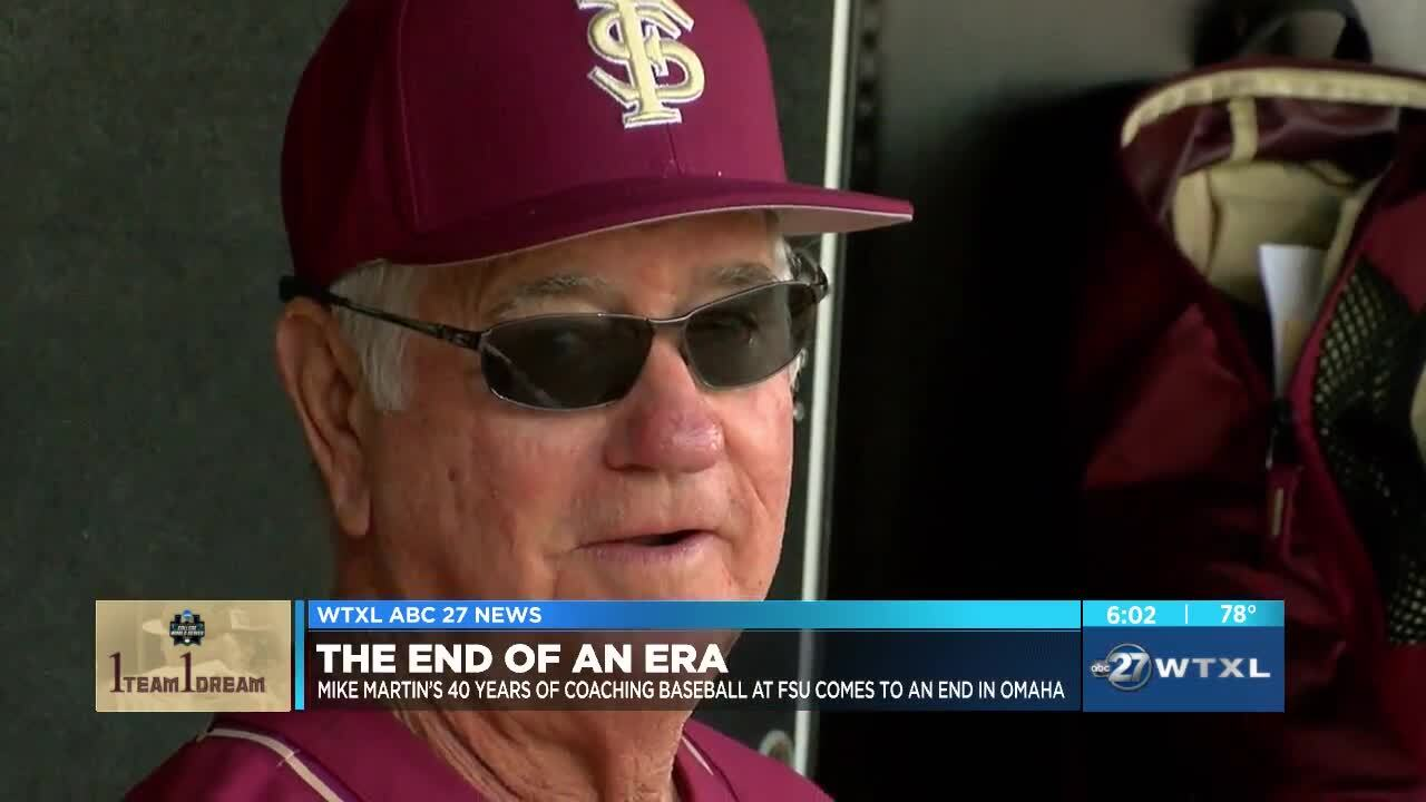 Mike Martin's 40 years of coaching baseball at FSU ends in Omaha