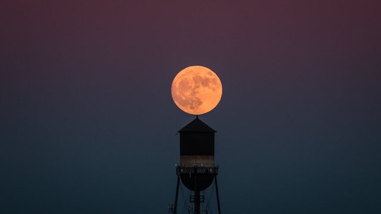How to see today's supermoon and get the best photo