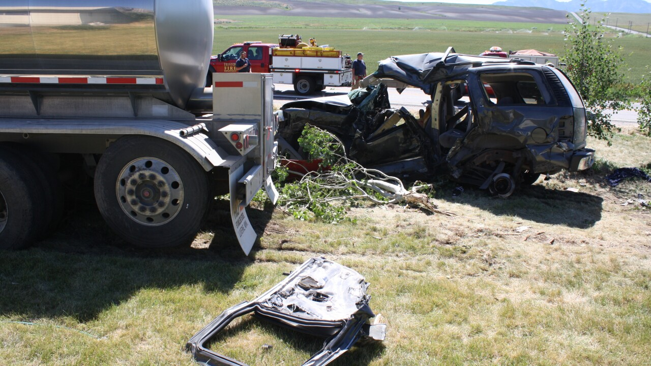 USU identifies 5 student athletes injured after crash involving SUV, semitrailer