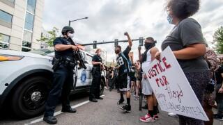 Denver's George Floyd protest_May 28 2020_Joshua Beckner