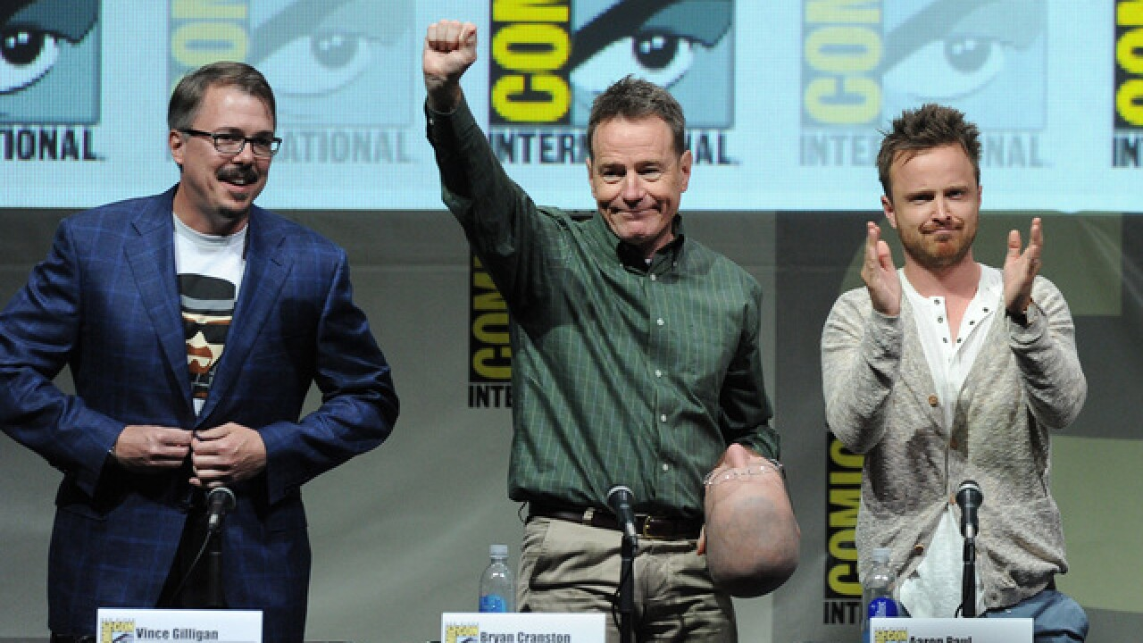 Cast of 'Breaking Bad' to reunite at San Diego Comic-Con