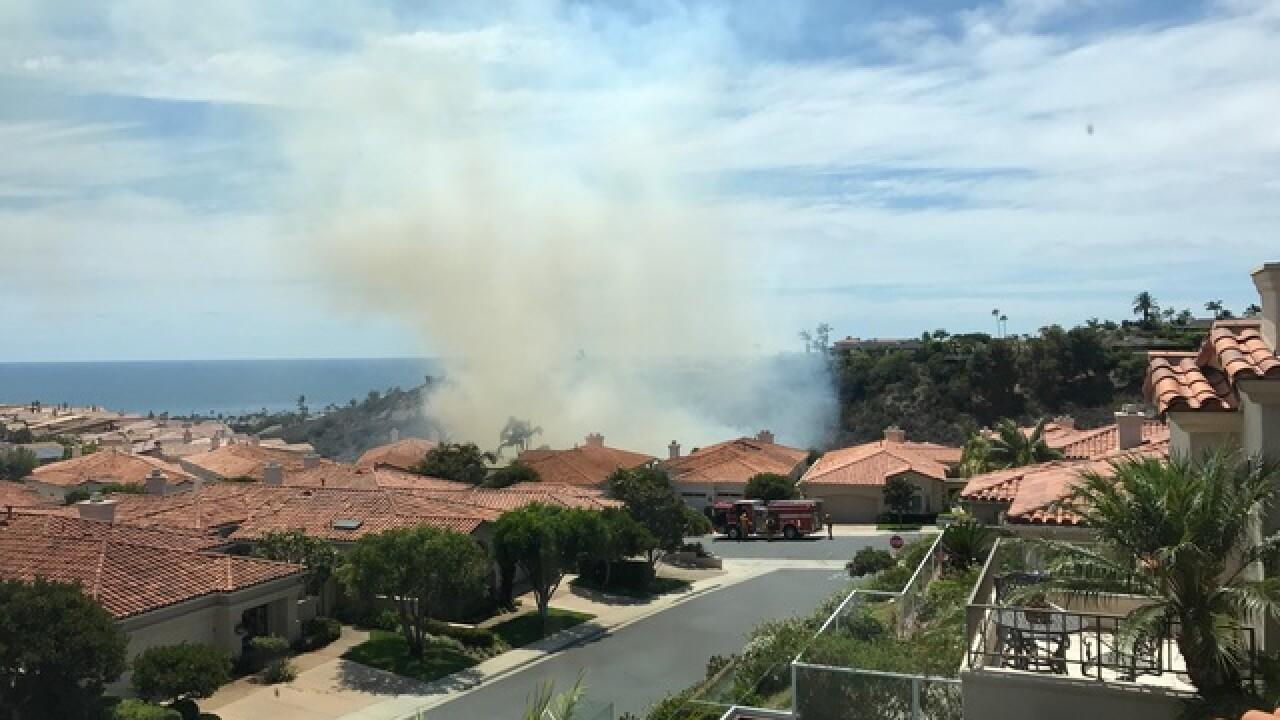 3 fires spark in San Diego