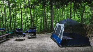 File image of campin