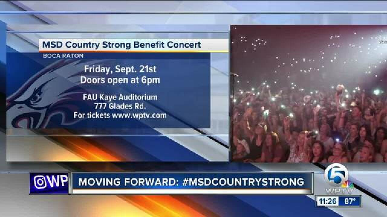 MSD Country Strong benefit concert in Boca Raton Sept. 21