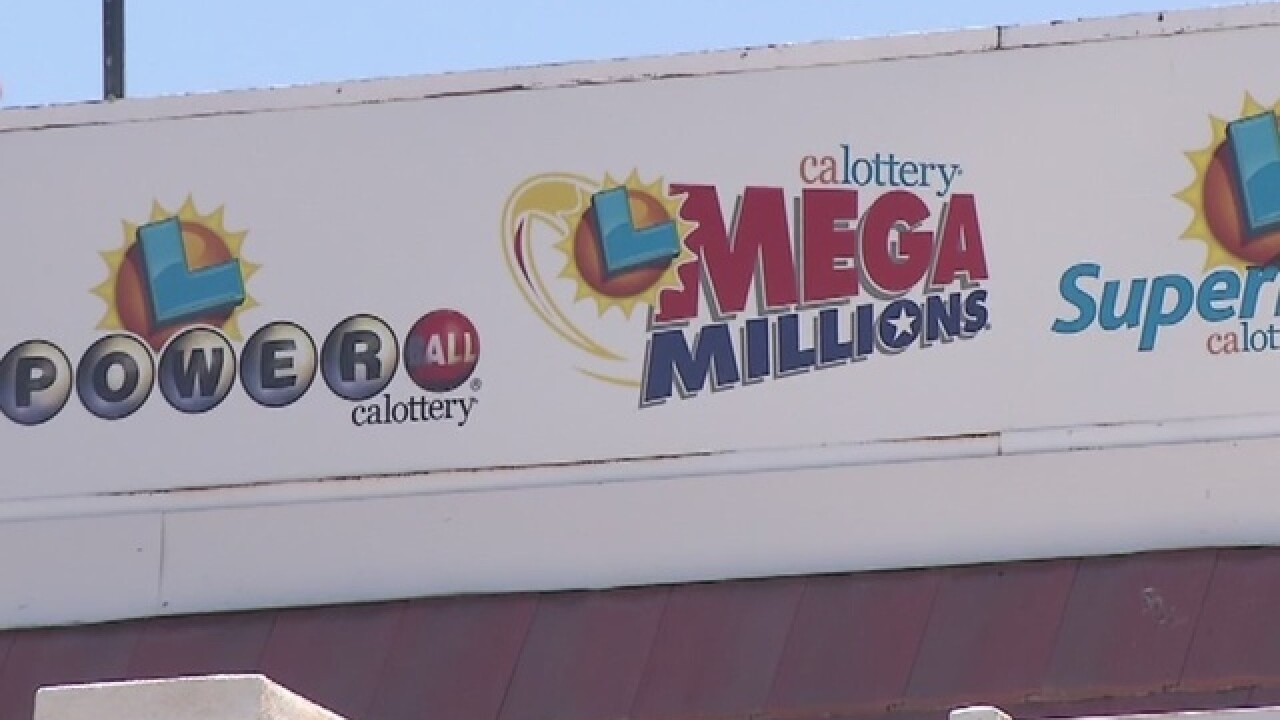 Lottery ticket worth about $570,000 sold in Primm