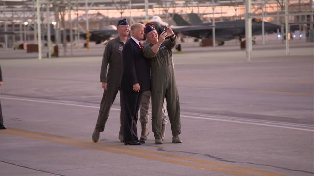 PHOTOS: President Trump visits Phoenix area