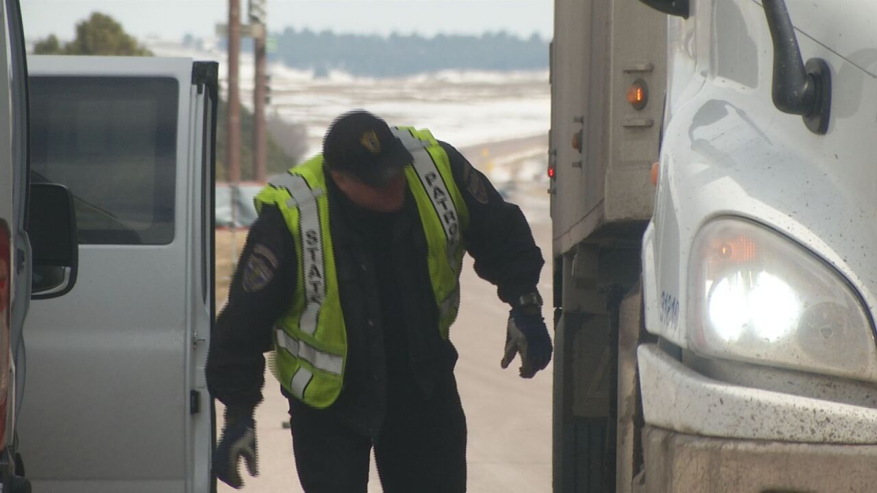 CSP working to stop truckers avoiding I-25 weigh stations