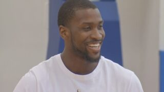 Kidd-Gilchrist Returns to Lexington to Help With Special Olympics