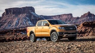 Ford reveals all-new 2019 Ford Ranger at Detroit auto show