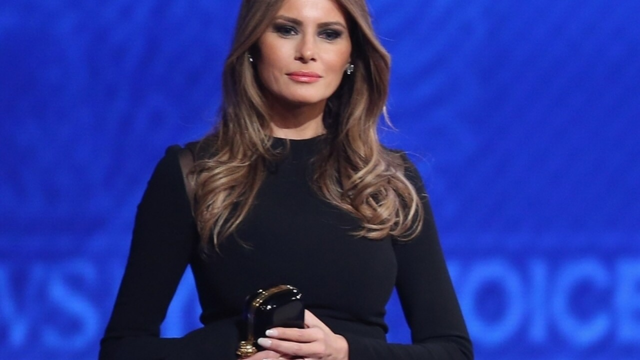 As first lady, Melania Trump would work to combat cyber bullying