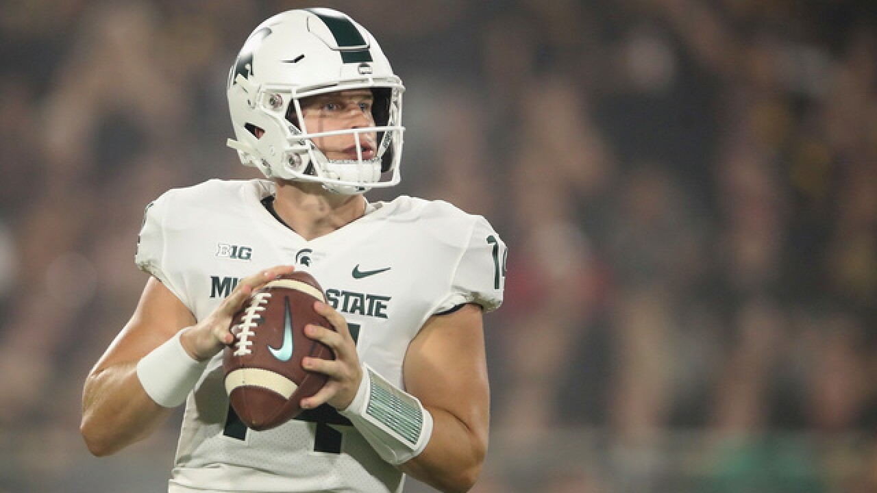 Back in action, Michigan State again has to shake off an early loss