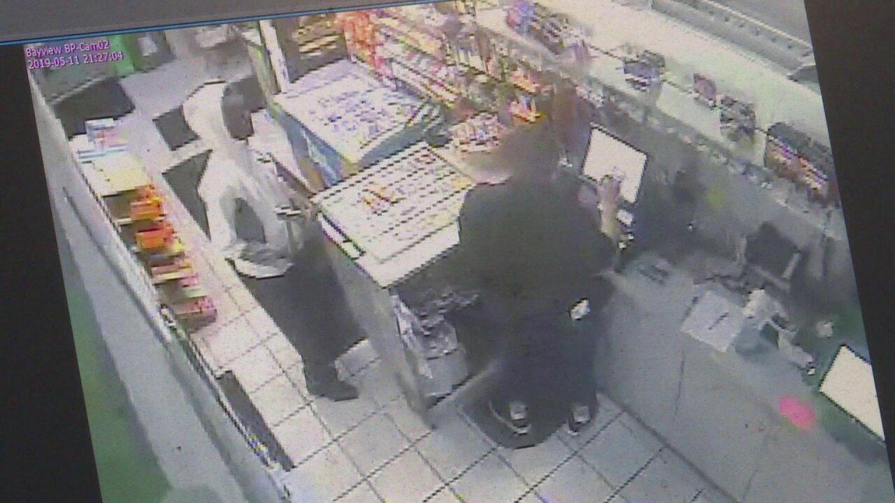 Police: Man armed with hatchet robs Norfolk gasstation