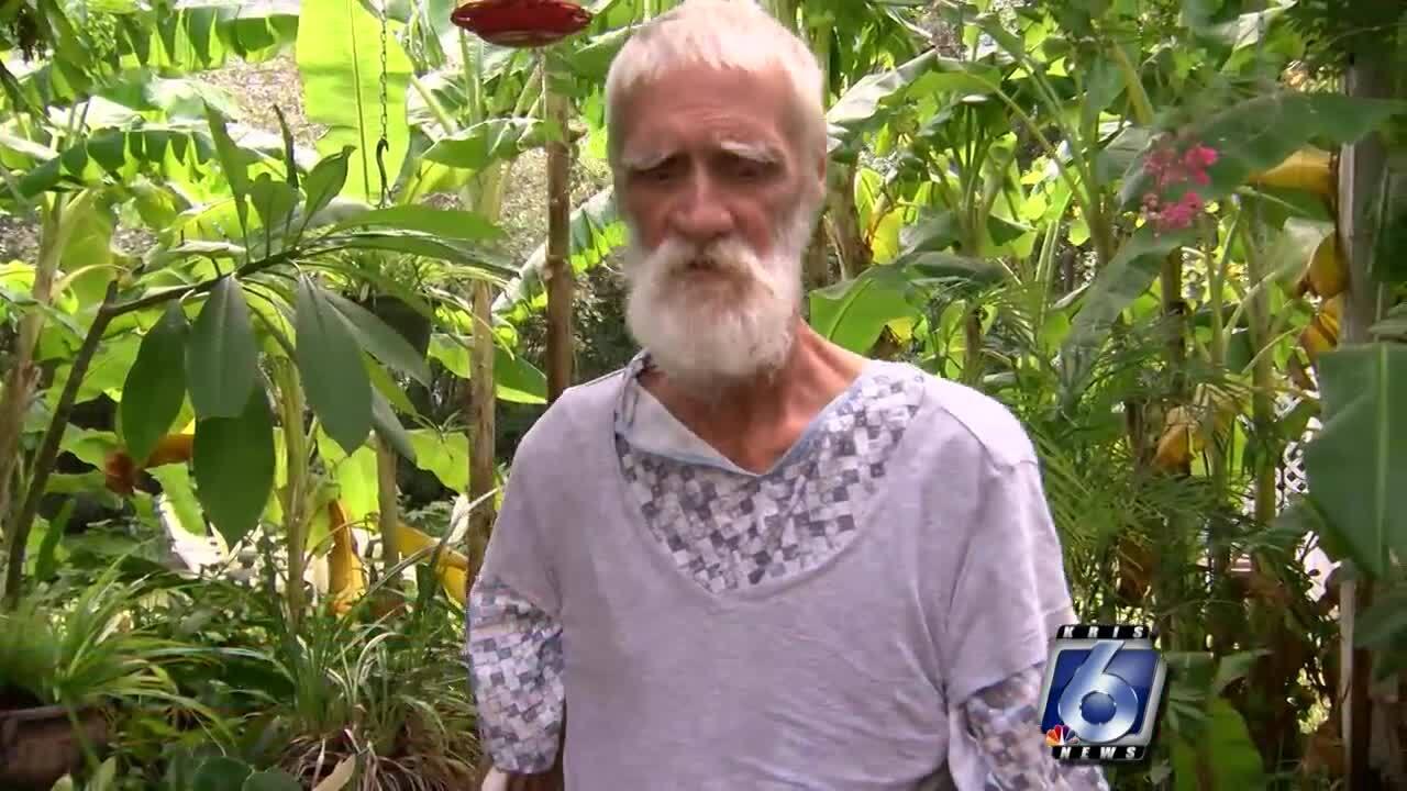Homeless man surprises local homeowner