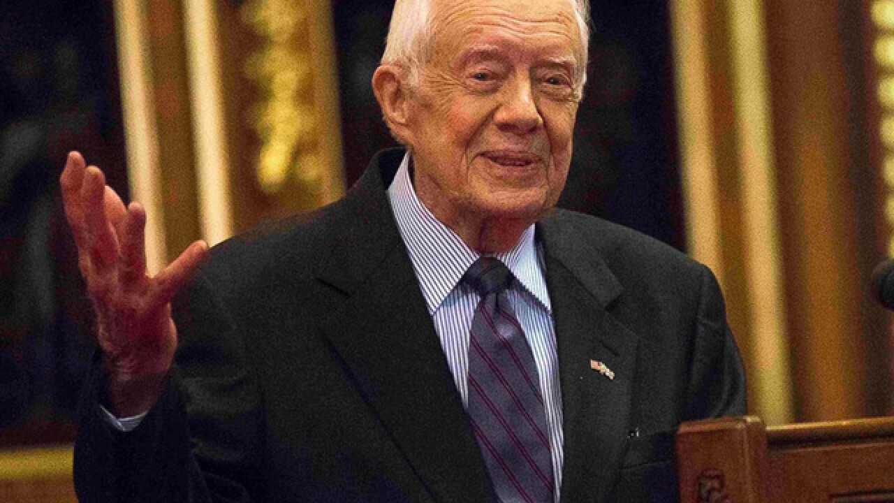 Jimmy Carter: I no longer need cancer treatment