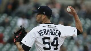 Drew_VerHagen_Kansas City Royals v Detroit Tigers