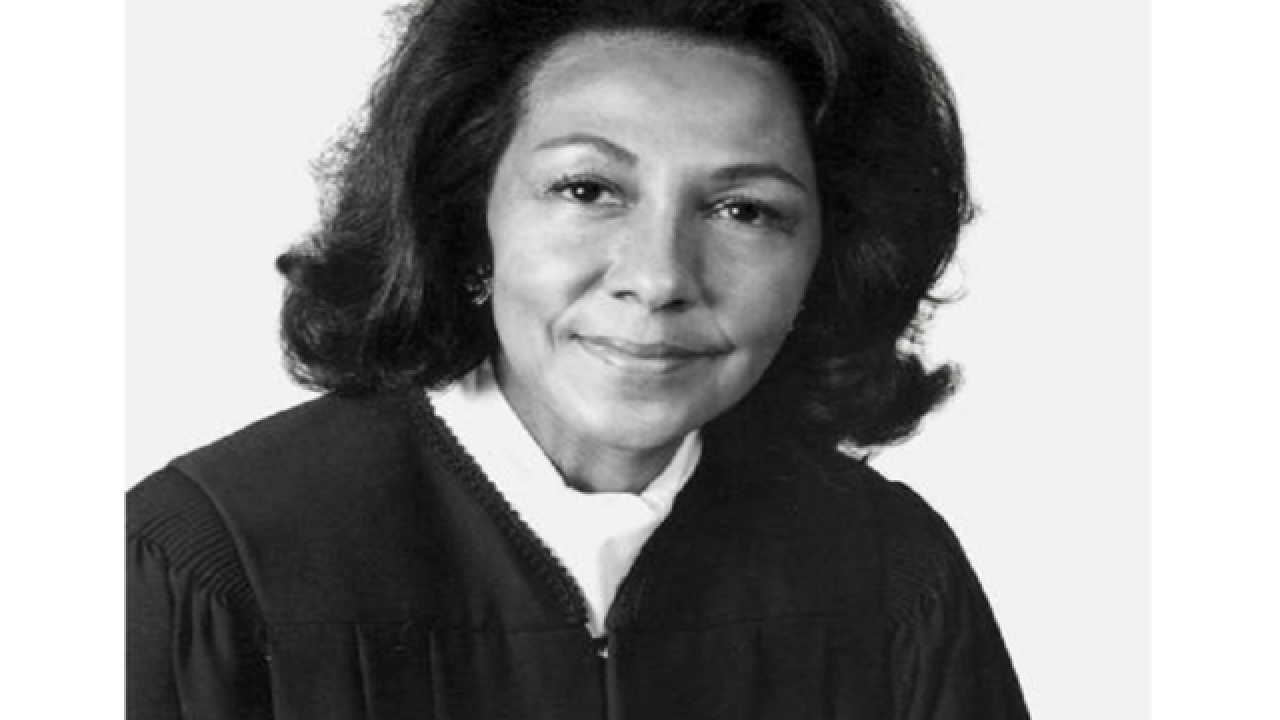 California's first female black judge dies at 96