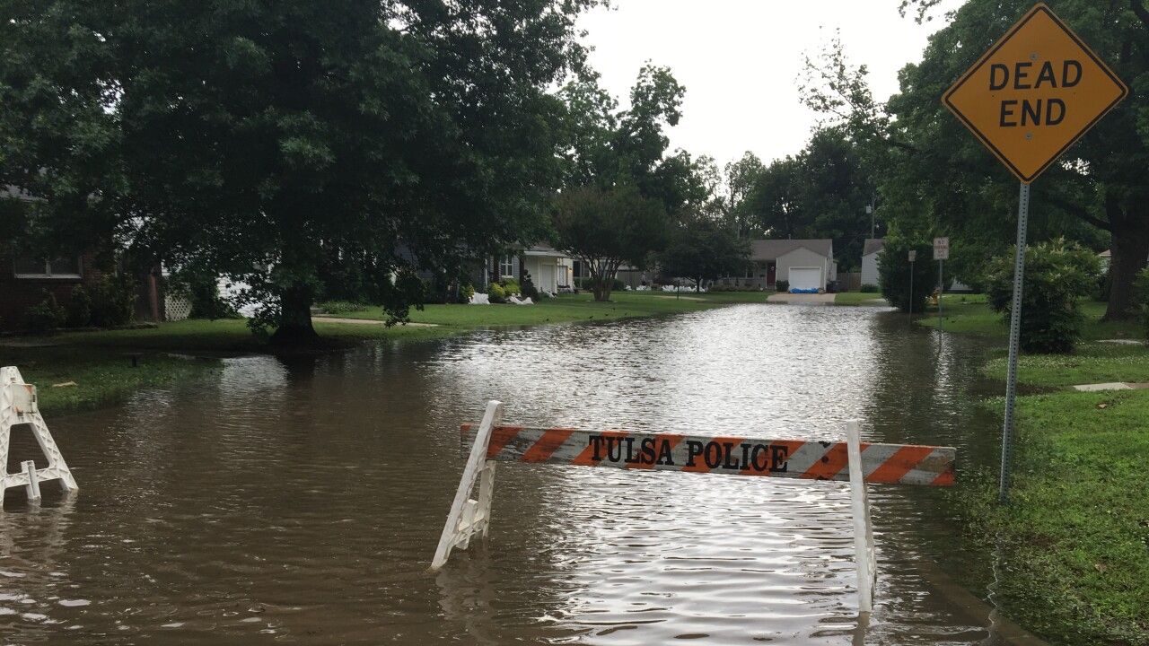 live blog: updates on flooding conditions around green country