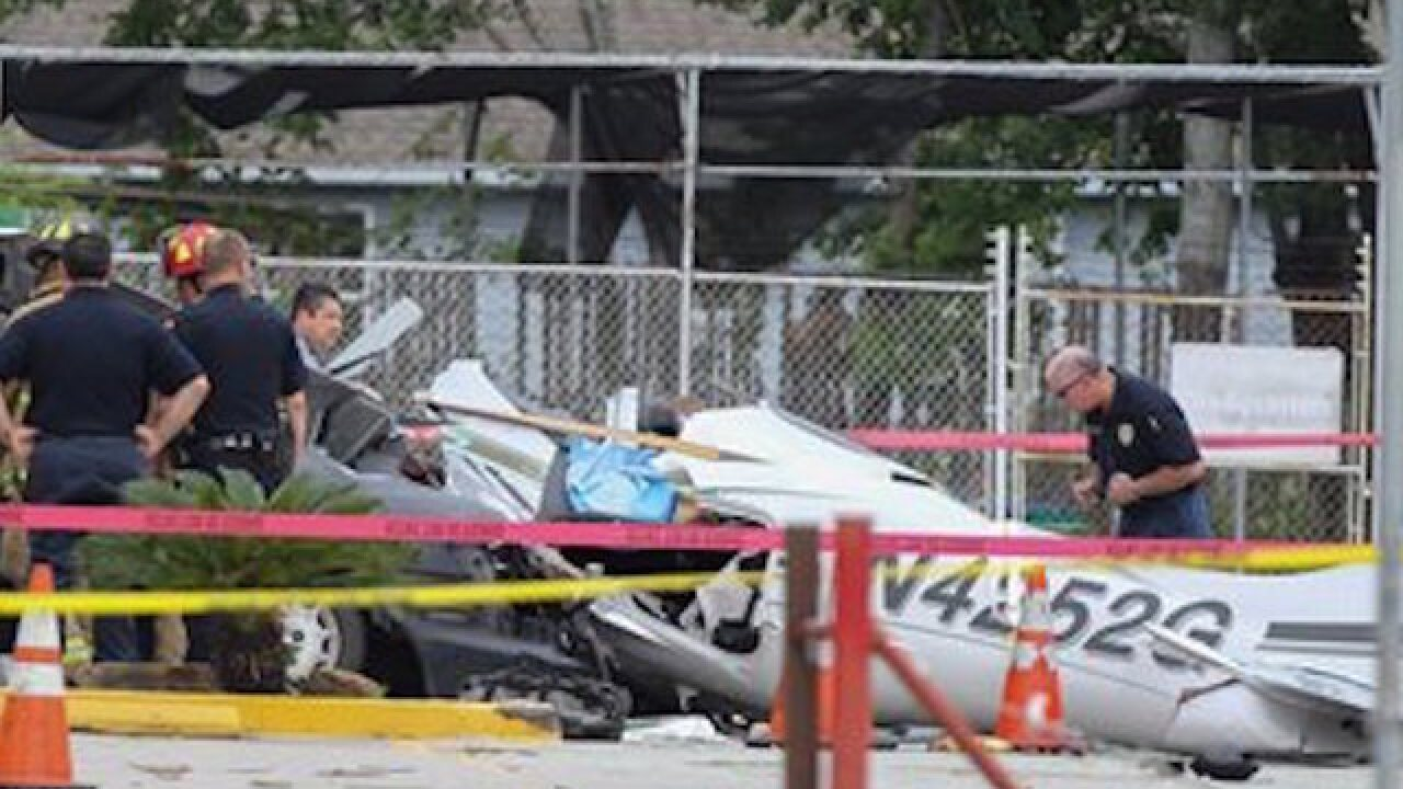 Three dead in small plane crash near Houston
