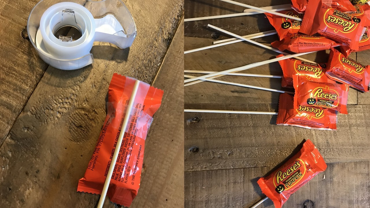 Mom creates 'candy sticking' hack to help keep trick-or-treaters safe this Halloween