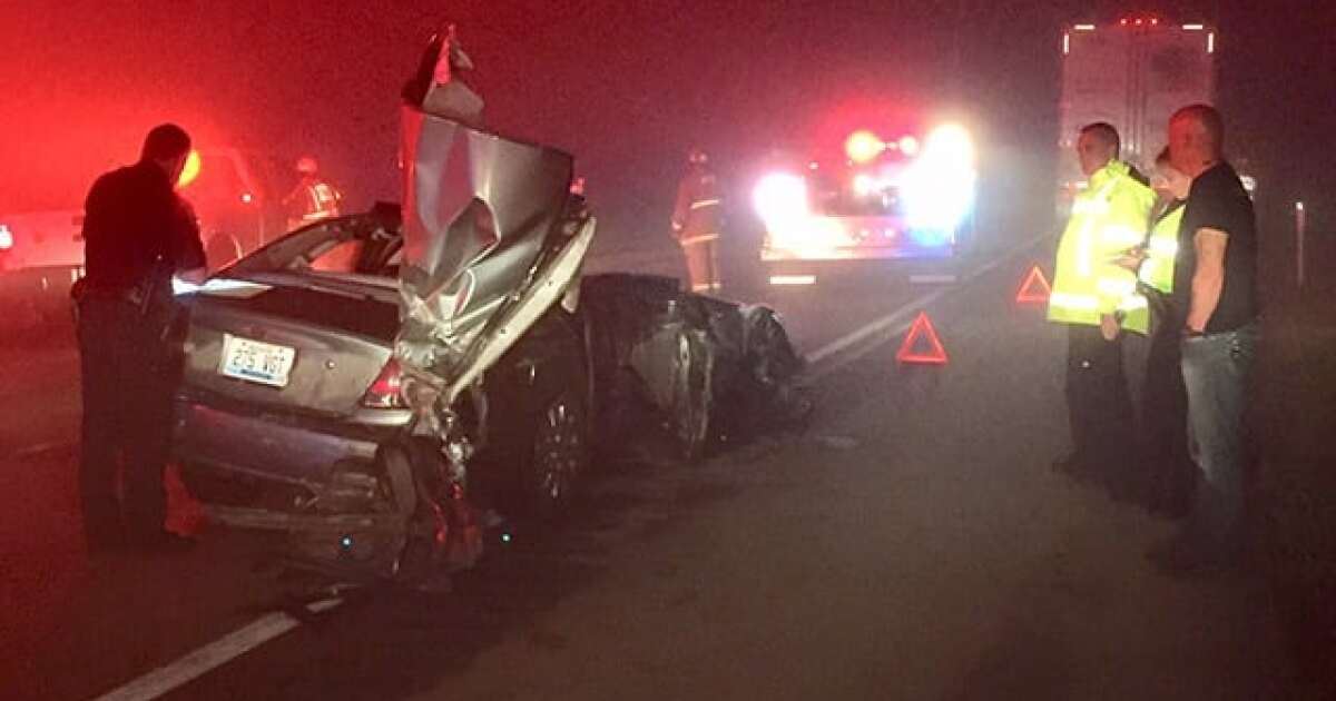 Heavy Fog Causes 3 Crashes On I-64 In Woodford County