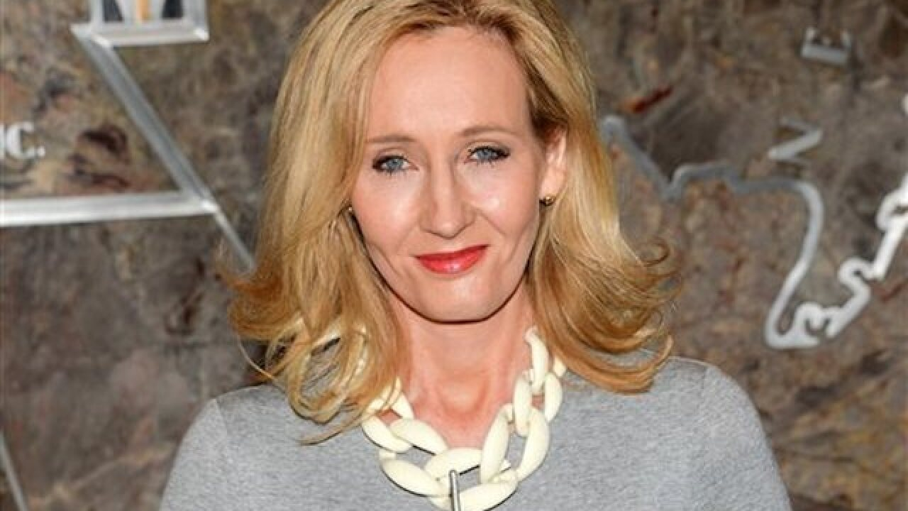J.K. Rowling launching 4-part series