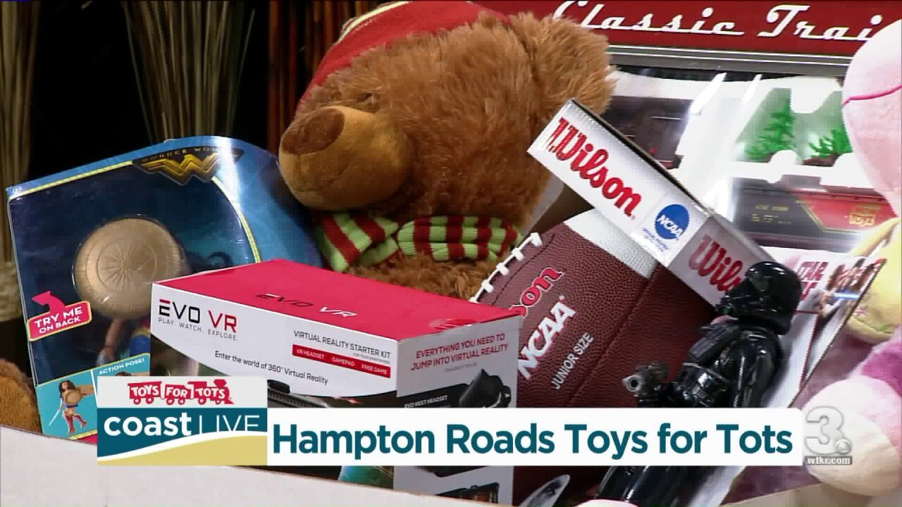 Toys for Tots needs you on Coast Live