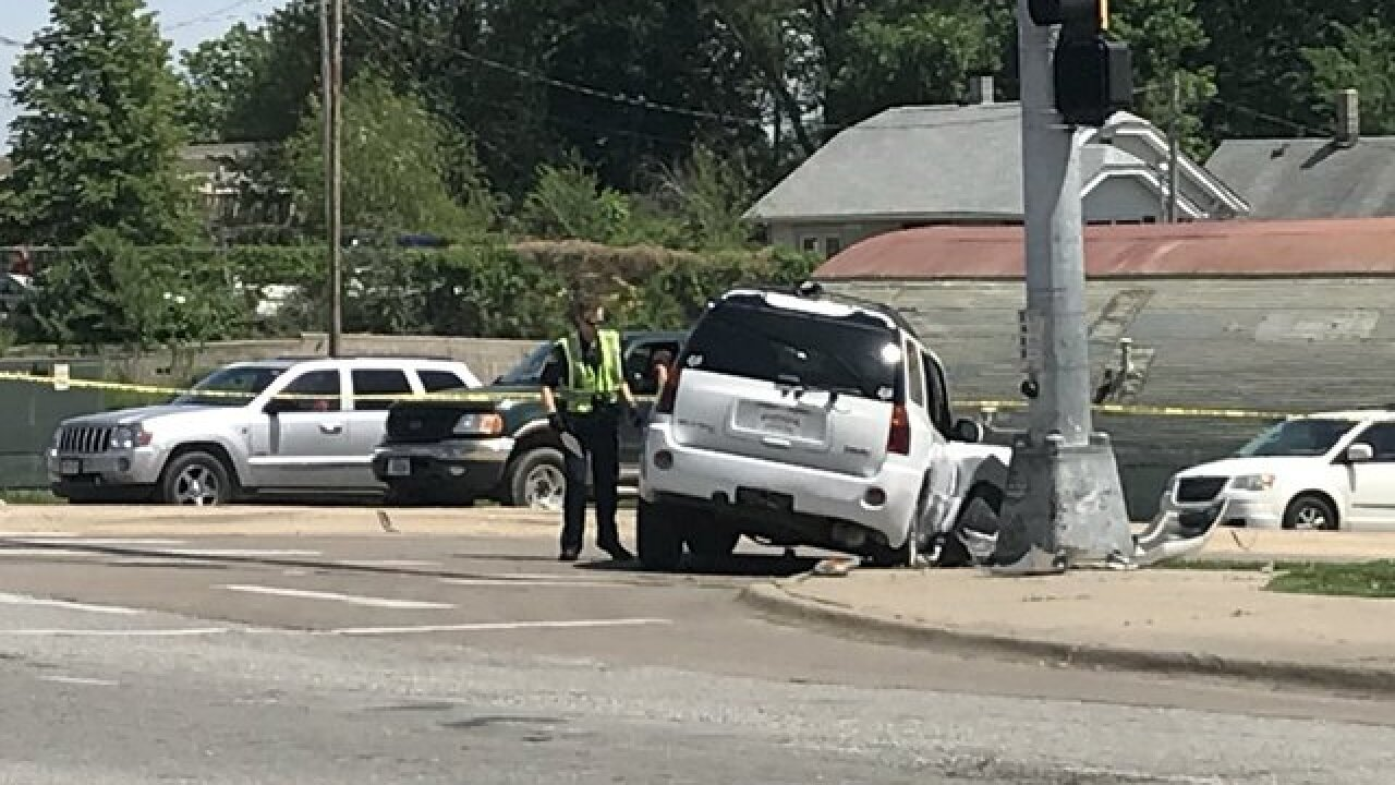 Woman test-driving SUV hits pedestrian, OPD says