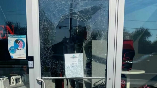 small business vandalized