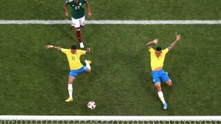 Neymar leads Brazil into World Cup quarterfinals