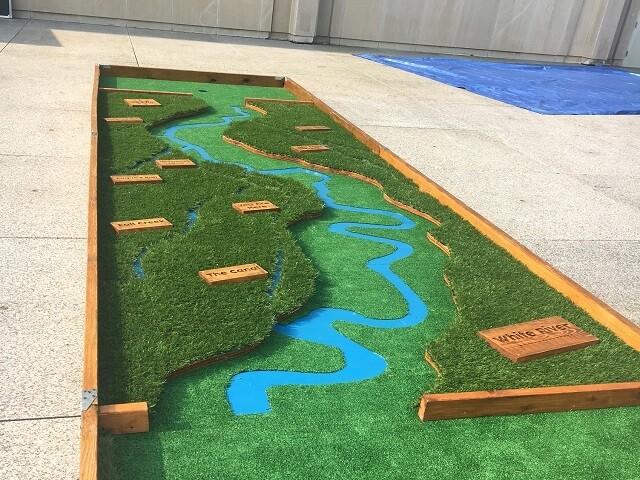PHOTOS: Indianapolis Museum of Art's mini golf course