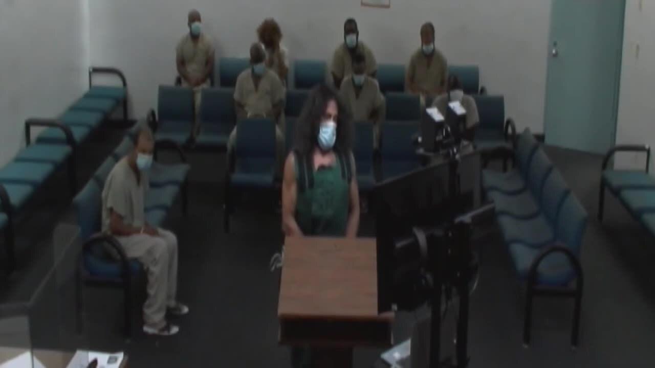 Levon Lopez in court