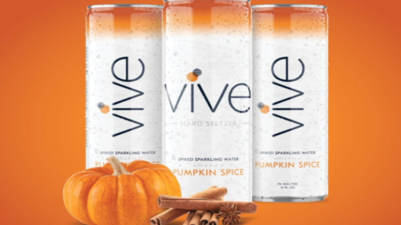 New Pumpkin Spice Hard Seltzer Sounds Perfect For Fall